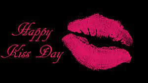 happy kiss day ...
