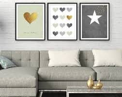 wall art sets of 3 for living room
