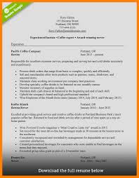 10 Barista Resume Sample Mla Cover Page