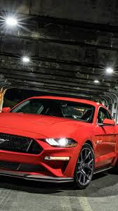 ford mustang wallpaper iphone. Beautiful Ford Ford Mustang Gt Muscle Cars Red Front View On Wallpaper Iphone