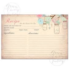 Pin By Korina Del Real On Templates Recipe Cards Printable Recipe