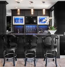 Modern Ideas For Black Home Bar  Home Design And Decor - Home bar cabinets design