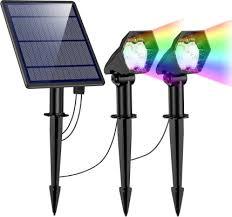 2 in 1 solar lights outdoor waterproof