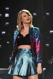 Small Picture Jacket taylor swift metallic skirt shiny galaxy print Wheretoget