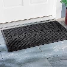 personalized front door matsPersonalized Doormats at BrookstoneBuy Now