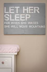 let her sleep canvas by snappycasualblog letters cut from maps and then mod podged canvas decoupage kids sleep on diy girl nursery wall art with rooney s nursery pinterest move mountains room and kids sleep
