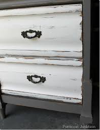 two tone painted furniture. nightstandpaintmakeoverproject two tone painted furniture e