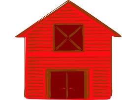 red barn clip art transparent. Download This Image As: Red Barn Clip Art Transparent