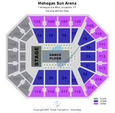 Mohegan Sun Arena Seating