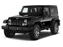 2018 jeep wrangler 4wd 2 door rubicon angular front exterior view