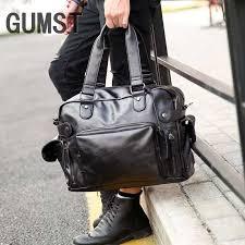 GUMST New <b>High Quality Men's Travel</b> Bags Solid Zipper Men ...