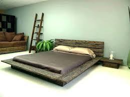 Low Platform Bed King Modern Low Profile Platform Bed Frame Queen ...