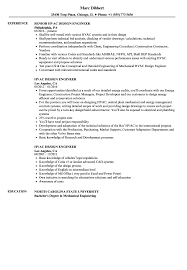 Hvac Design Engineer Resume Samples Velvet Jobs