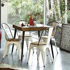 metal dining chairs.  Metal Intended Metal Dining Chairs T