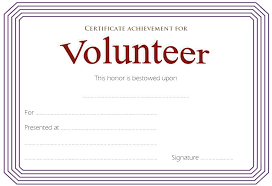 Volunteer Certificate Of Appreciation Templates Free Printable And Volunteer Certificate Of Appreciation Recognition