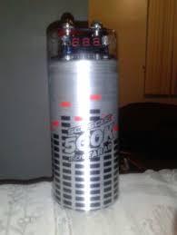 scosche k micro farad car audio capacitor accessories scosche 500k micro farad car audio capacitor