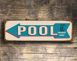 Swimming Pool Decor Signs Swimming Pool Etsy 92
