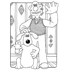 Wallace En Gromit Kleurplaten Kleurplatenpaginanl Boordevol