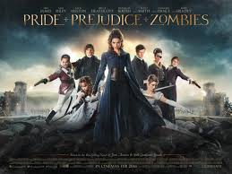 pride and prejudice and zombies review the other and austen s theatrical release poster c lionsgate