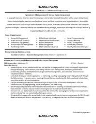 Casting Director Resume Nonprofit Manager Resume Example Executive Director