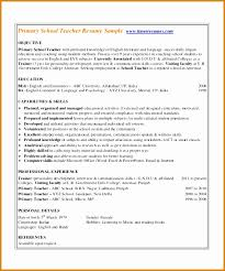 Free Teacher Resume Templates Adorable 48 Hindi Teacher Resume Format BestTemplates BestTemplates