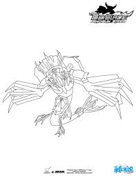 Guardian Leviathan Coloring Page More Beyblade