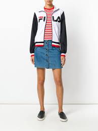 fila logo. fila logo sports jacket