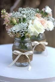Decorating Jam Jars For Wedding Flower Containers For Weddings Best 100 Jam Jar Flowers Ideas On 11