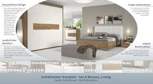 Easy Möbel Schlafzimmer Komplett Set A Manase 5 Teilig Farbe