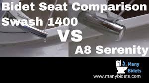 Bio Bidet A8 Serenity Vs Brondell Swash 1400 Bidet Seat