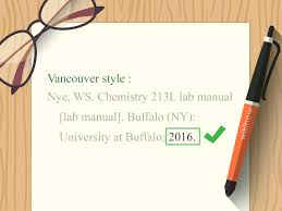 How To Cite A Lab Manual Wikihow