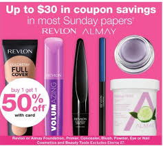 starting 06 09 walgreens will have almay foundation primer blush concealer powder eye nail or beauty tools on one get one 50 off