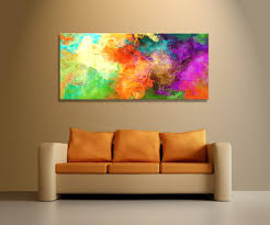 on large canvas wall art ebay with abstract canvas art warm digital painting mother earther earth and 5