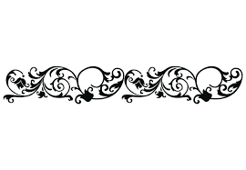 Border Black And White Line Clipart Single Line Border Pencil And In Color Line Clipart