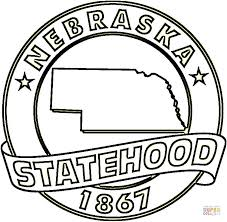 Small Picture Nebraska State coloring page Free Printable Coloring Pages