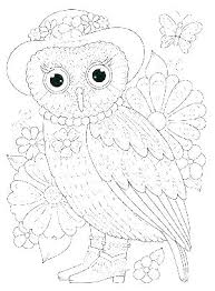 Owl Mandala Coloring Page Owl Coloring Page Owl Color Page Baby Owl