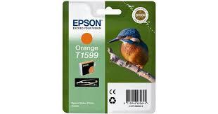 <b>Epson</b> T1599 (<b>Orange</b>) • Find lowest price (25 stores) at PriceRunner »