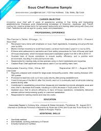 Professional Culinary Resume Template Arts Cover Letter For Job Chef