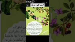 أدعية ليوم عرفة 🍃 | خير الدعاء دعاء يوم عرفة - YouTube