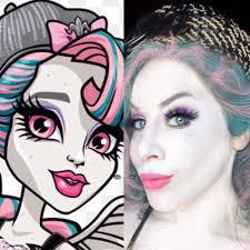 roce goyle monster high makeup tutorial