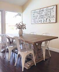 The dining room holds a table and chairs, but filling the rest of the space may take some time, especially if you're using this room to make a grand today's post is dedicated to wall decor ideas for the modern dining room. 10 Alluring Dining Room Wall Decor Ideas Archlux Net