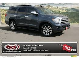 2010 Slate Gray Metallic Toyota Sequoia Limited 4WD #78697979 ...