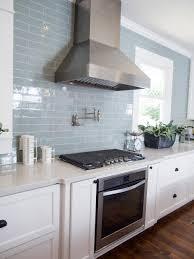 Kitchen Subway Tile Beautiful Blue Handmade Tile Backsplash Cafe Collection 3x6