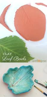 Stunning Clay Leaf Dishes that are Easy to DIY