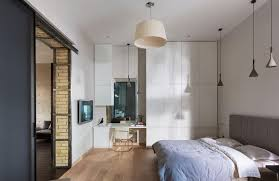 modern bedroom design placement ideas stylish corner workdesk office space brown lampshade pendant light bedroom furniture placement ideas