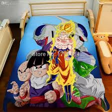 toddler z bed new dragon ball z bed set on toddler bedding sets baby bedding sets