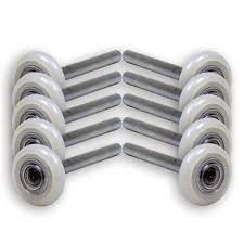 nylon garage door rollersBuy 13 Ball Nylon Garage Door Rollers 4 Inch Stem Sealed Bearing