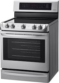 lg 6 3 cu ft self cleaning freestanding electric range with probake convection stainless steel lre4213st best