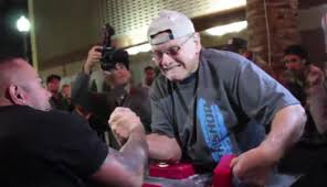 Arm Wrestling With A 78 Year Old Grandpa. Unbelievable   ThatViralFeed