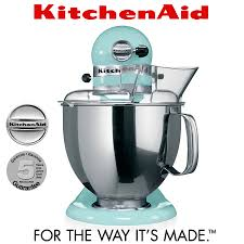 Kitchen Aid Ice Blue Kitchenaid Artisan Stand Mixer 5ksm150ps Ice Blue Ka